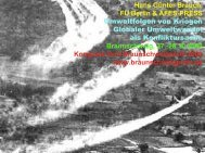 Umweltfolgen von Kriegen und Globaler Umweltwandel als ...