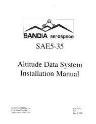 SAE5-35 - Dallas Avionics, Inc.