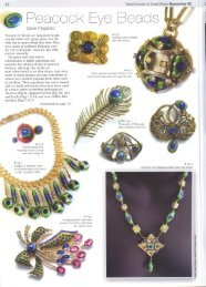 Peacock Eye Beads. - Diane Fitzgerald