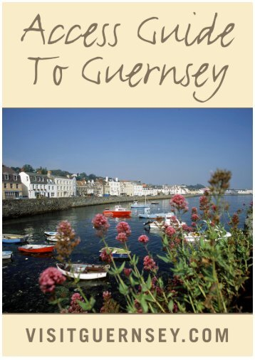 Access Guide [859kb] - Guernsey Harbour Authority