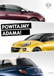 Opel ADAM katalog – Opel ADAM broszura – Opel ... - Opel Polska