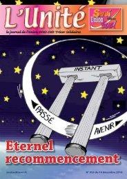le journal de l'Union SNUI-SUD Trésor Solidaires
