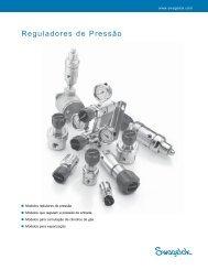 Reguladores de Pressão, (MS-02-230, R2) - Swagelok