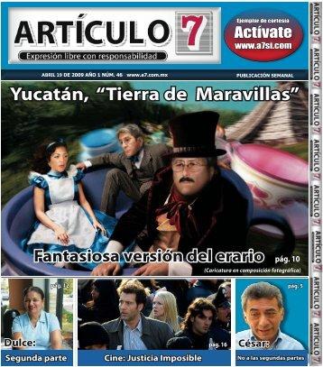 "pág. 10 Yucatán, ""Tierra de Maravillas"" - a7.com.mx"