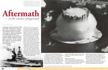 Aftermath - at the nuclear playground :: X-Ray Magazine :: Issue 29 ...