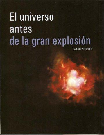 El universo antes de la gran explosión - COLEGIO CALATRAVA