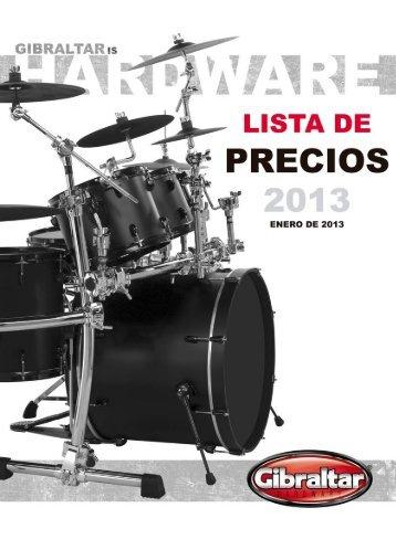 Gibraltar:Percusión - Musical El Arco Iris