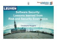 Software Security - Secure Application Development