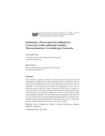 revista marzo 2008b:MaquetaciÛn 1.qxd - Instituto de Economía y ...