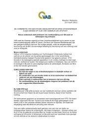 Maarten Matienko 23 maart 2011 DE COMBINATIE ... - ProFacility.be