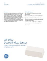 Sensors - San Marino Security Systems