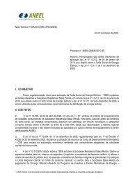Nota Técnica nº 005/2010 - Aneel