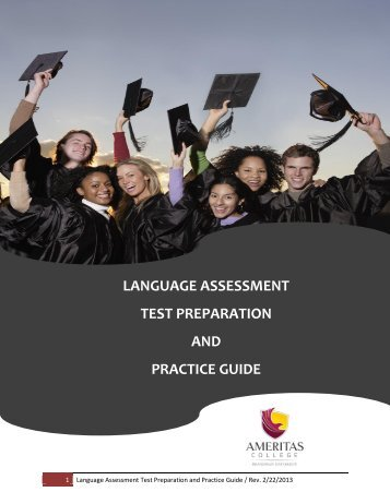 language assessment test preparation and practice guide