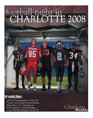 inside: - Carolina Weekly Newspapers