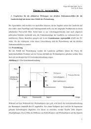 Thema 11. Agrarpolitik - Wiwi Uni-Frankfurt