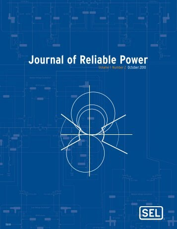 Journal of Reliable Power - SEL