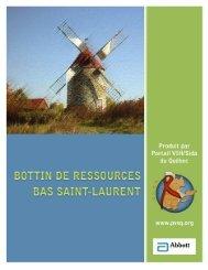 Bas St-Laurent - Portail VIH / sida du Québec