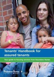 Tenants' Handbook for assured tenants - Hounslow Homes