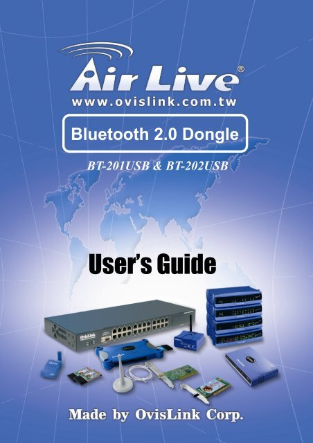 AIRLIVE BT-201 USB DRIVERS WINDOWS 7