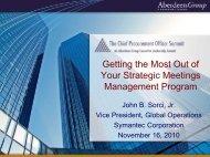 Meetings - Summit