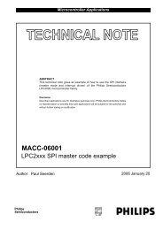 AN10369 UART/SPI/I2C code examples - NXP com