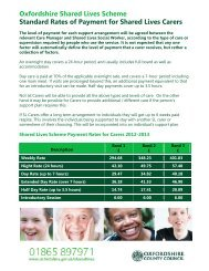 Carer payment rates and banding information (pdf format, 100KB)