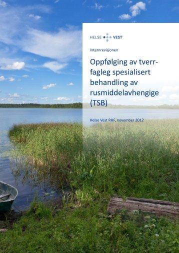 Rapport internrevisjon TSB - Helse Førde