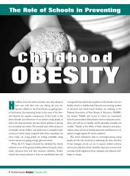 Schools' Role in Preventing Obesity - thenewPE
