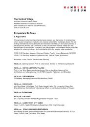 Symposium 'The Vertical Village', eng. (PDF)