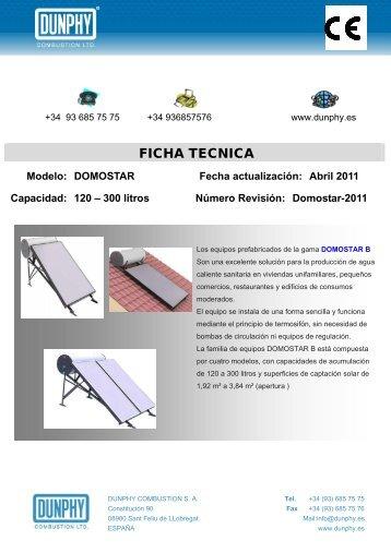 Domostar-2011 - DUNPHY.es