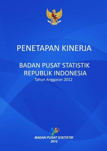 Full page fax print - Badan Pusat Statistik