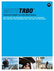 DGPTM 4150 / DGPTM 4150+ (800/900 MHz) - Motorola Solutions