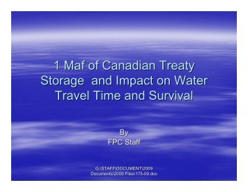 Treaty/Non-treaty Operations and Treaty Operating Plan Group ...