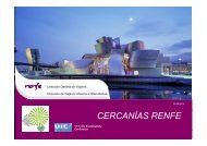 CERCANÍAS RENFE - The 12th UIC Sustainability Conference