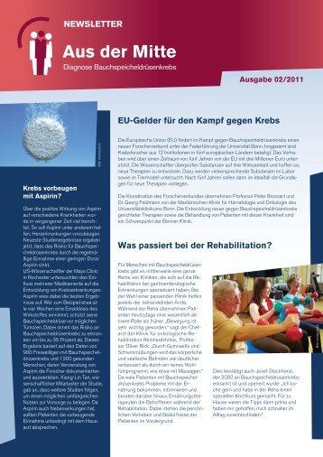 NEWSLETTER Aus der Mitte - Roche in Deutschland
