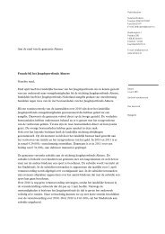 Aan de raad van de gemeente Almere Fraude bij het ... - CBF