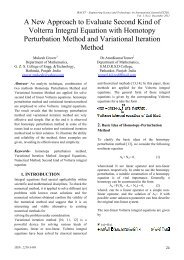 A New Approach to Evaluate Second Kind of Volterra Integral ...