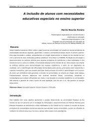 A inclusão de alunos com necessidades educativas ... - Faders