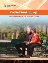 The BAI Breakthrough - Banner Alzheimer's Institute
