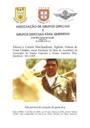 Coronel Pára-Quedista Sigfredo Ventura da Costa Campos - Ultramar