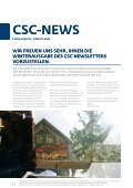 AusgAbe 3 / 2010 CSc-nEWSlEttEr - CSC Pharma - Page 2
