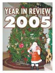 Year in Review, 2005 - Tridentnews.ca