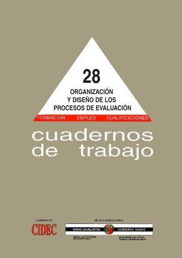 organización y diseño de los procesos de evaluación - Lanbide