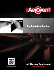 Download Full Line Catalog - Aerovent