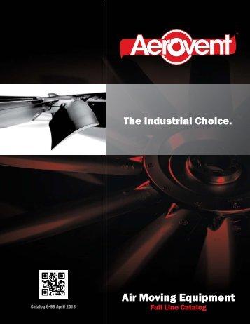Download Full Line Catalog - Aerovent
