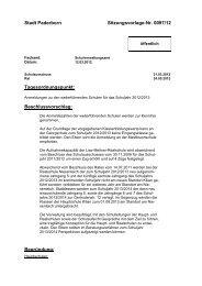 Vorlage (15 KB) - Stadt Paderborn