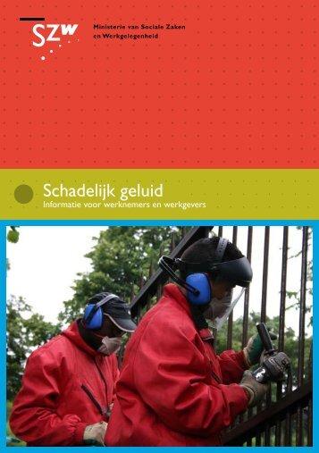 brochure schadelijk geluid - Voion