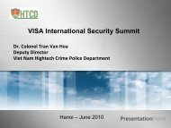 Keynote speech - Visa Asia Pacific