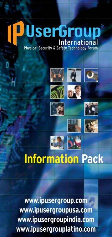 IPUG leaflet 2013 - IP UserGroup