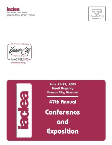 Conference and Exposition - IACLEA